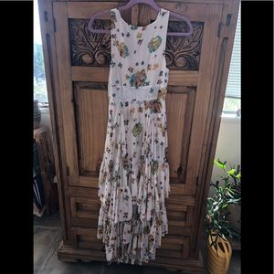 Free People Dresses - 🥰💝Free People Catching Glances Tiered Dress 0